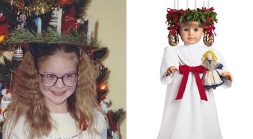 American girl doll - kirsten